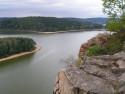 Tapeta Seč-Oheb-výhled na přehradu 10