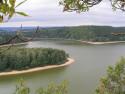 Tapeta Seč-Oheb-výhled na přehradu 13