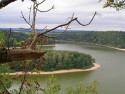 Tapeta Seč-Oheb-výhled na přehradu 15