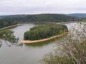 Tapeta Seč-Oheb-výhled na přehradu 20