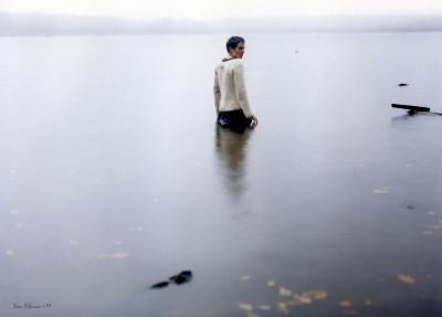 Tapeta: Šero nad jezerem