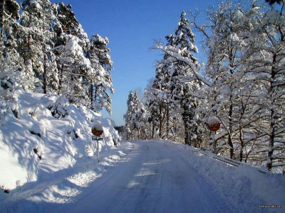 Tapeta: Severské zimy 5