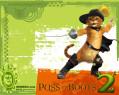 Tapeta Shrek 2 - Kocour v botách