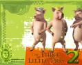 Tapeta Shrek 2 - prasátka