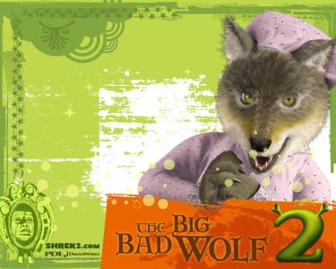 Tapeta: Shrek 2 - Vlk