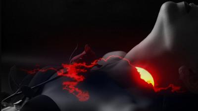 Tapeta: síla západu slunce