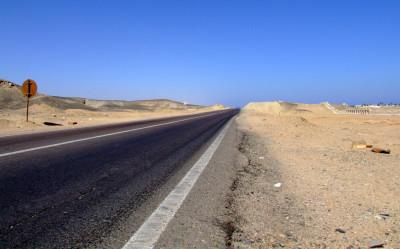 Tapeta: Silnice u Marsa Alam