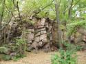 Tapeta Skála pod hradem Oheb