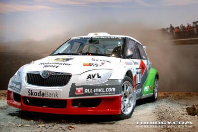 Tapeta: Škoda Fabia WRC