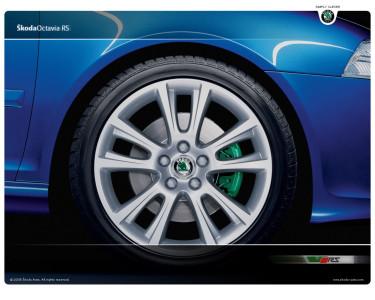 Tapeta: Škoda Octavia RS 5