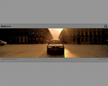 Tapeta: Škoda Superb 6