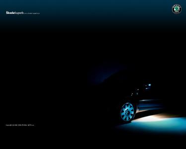 Tapeta: Škoda Superb 9