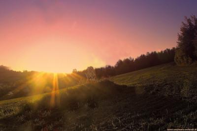 Tapeta: slnečná žiara