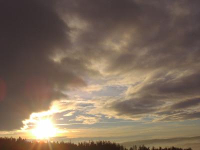 Tapeta: Slunce svit