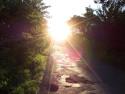 Tapeta Sluneční silnice