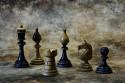 Tapeta staré šachy
