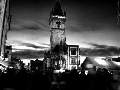 Tapeta: Staroměstská radnice - HDR