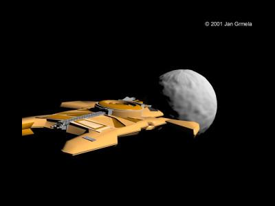 Tapeta: Starship