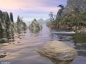 Tapeta Strašidelné jezero