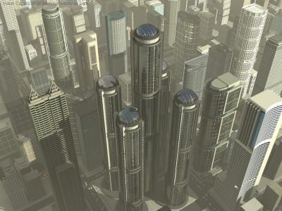 Tapeta: Surreal cities 12