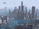 Tapeta Surreal cities 14