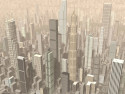 Tapeta Surreal cities 19