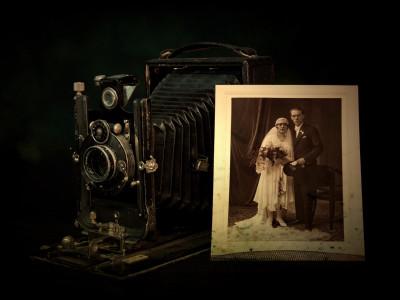Tapeta: svatební foto