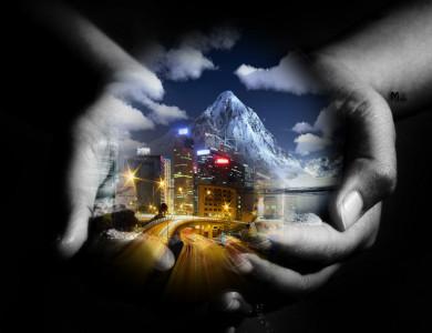 Tapeta: Svět na dlani