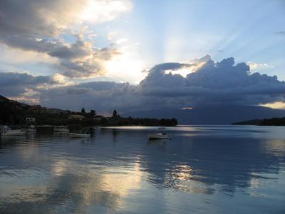 Tapeta: Svítání  Nidri -Lefkáda