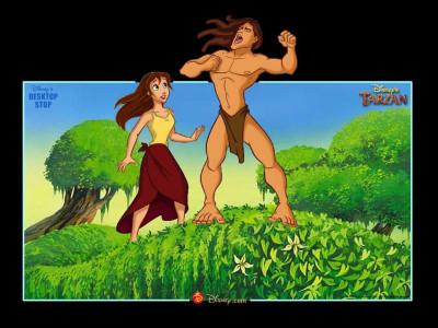 Tapeta: Tarzan 3