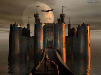 Tapeta: Temný hrad