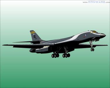 Tapeta: The B-1B Lancer