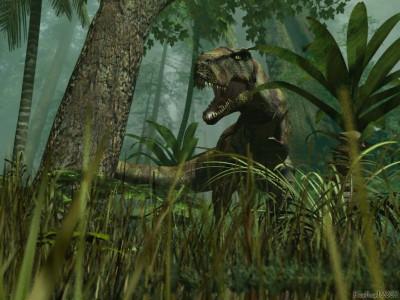 Tapeta: T-rex