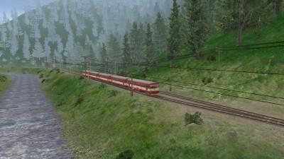 Tapeta: TS2010 - Motorový vlak