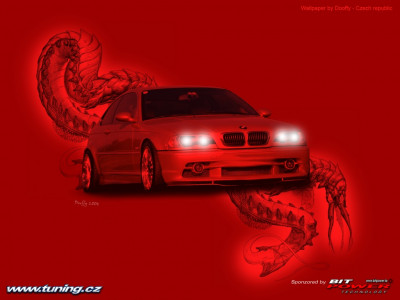Tapeta: tuning BMW