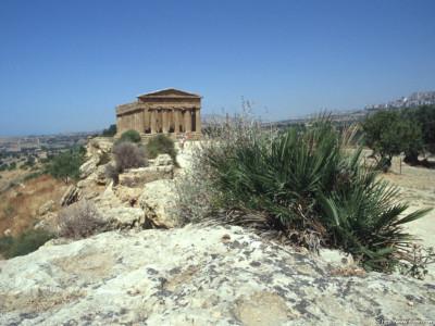 Tapeta: Údolí paláců Agrigento 6