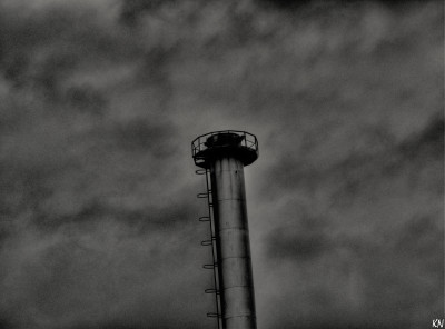 Tapeta: Uničovský komín