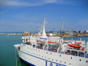 Tapeta V přístavu