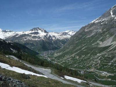 Tapeta: Val d'Isere