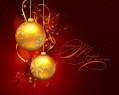 Tapeta Vánoce kouličky