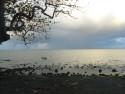 Tapeta Večer na pobřeží Mauricia