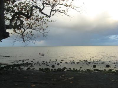 Tapeta: Večer na pobřeží Mauricia