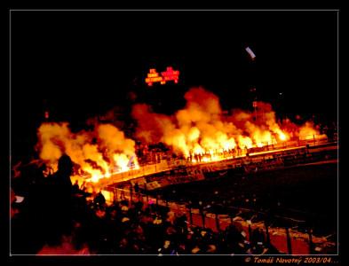Tapeta: večerní utkání F.C.B.