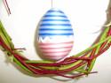 Tapeta vejce na zdi