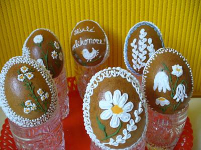 Tapeta: Velikonoční perníková vejce