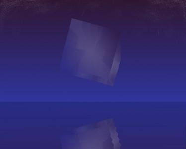 Tapeta: Vesmírná krychle