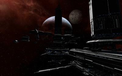 Tapeta: Vesmirna stanica