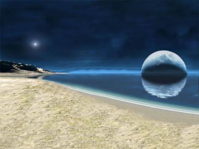 Tapeta: Vesmírný ráj