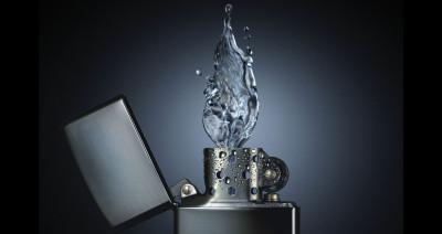 Tapeta: vodní plamen zapalovač