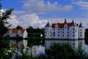 Tapeta Vodní zámek Glücksburg